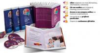 CURSO COMPLETO INGLÉS HOME ENGLISH NOW. 20 LIBROS + 20 CD