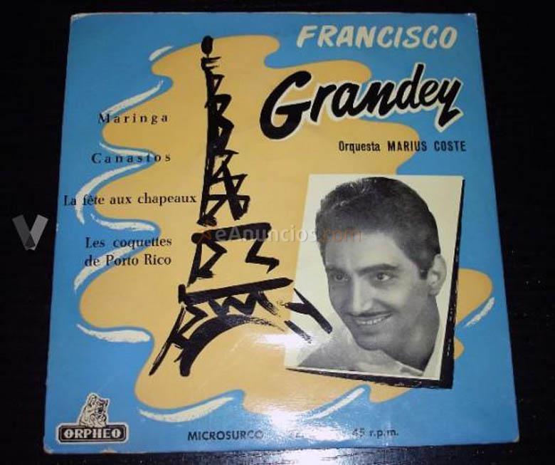 Francisco Grandey single años 60