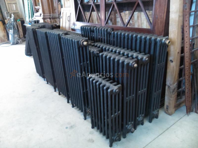 Venta de radiadores de hierro fundido restaurados 84114 - Radiadores de hierro fundido ...
