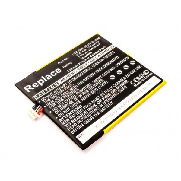 Batería  para Amazon D01400, Kindle Fire