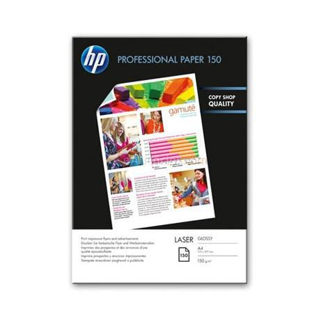 HP - Professional Glossy Laser Paper 150 gsm-150 shtA4210 x 297 mm A4 (210297 mm) Brillo Color blanco papel para