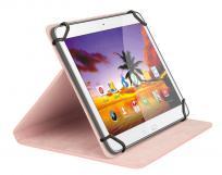 Sweex Funda para tablet de 8, de color rosa, con soporte y bordes elásticos para facilitar el agarre