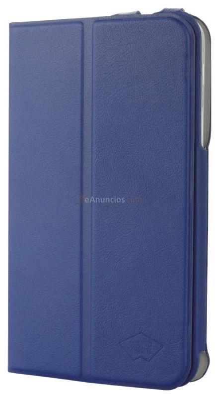 Mosaic Theory Funda de cuero para Samsung Galaxy Tab 7.0, de color azul , soporte con 3 posiciones diferentes