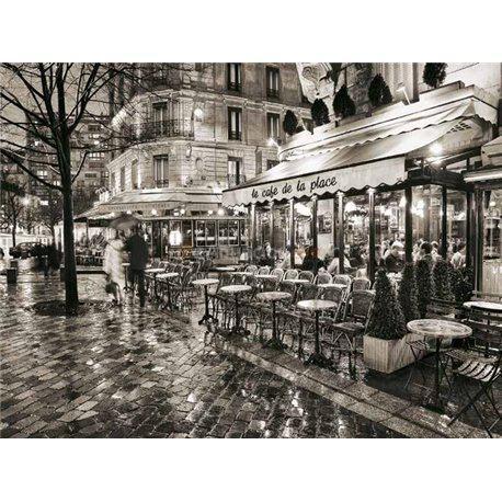 Laminas para cuadros de paris blanco y negro sidewalk - Laminas antiguas para cuadros ...