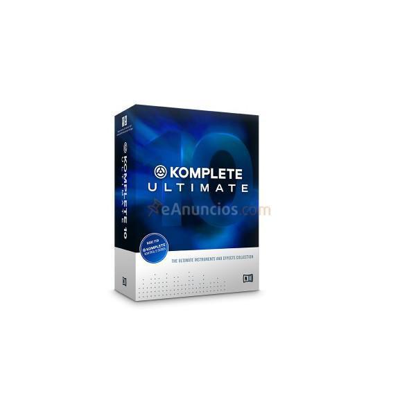 NATIVE INSTRUMENTS - KOMPLETE 10 ULTIMATE CRG
