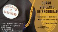CURSO VIGILANTE DE SEGURIDAD PRIVADA