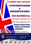 CURSOS DE INDIOMAS PARA DESEMPLEADOS Y UNIVERSITARIOS
