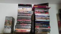 vendo 52 Dvds: Beatles, The Who, Clash,