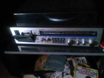 Radio vinil antigo