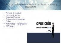 CERTIFICADOS DE OPOSICION DE C.N.P
