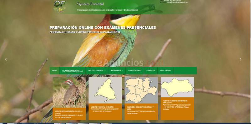OPOSICIONES INGENIERO MONTES. CASTILLA Y LEON