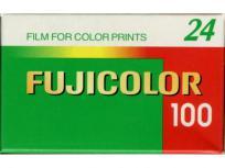 Fujifilm FUJICOLOR 100 negativo color 35mm x24 EXP