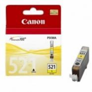 CANON  CARTUCHO TINTA CANON CLI 521 AMARILLO 9ML PIXMA 3600 4600 4700 MP 540 550 560 620 630 640 980 MX860 870