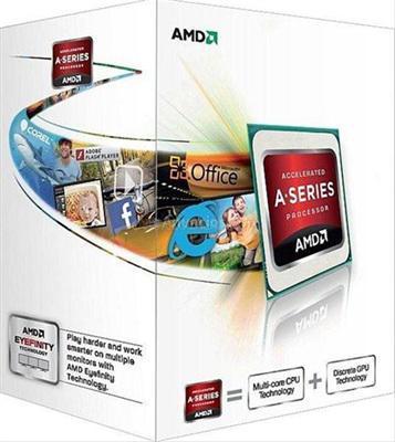 AMD FM1 X2-A4 3400 2.7GHz 1.0MB