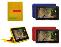 SUNSTECH - TABLET NIÑOS 7 KIDS7QC ROJA QUAD CORE