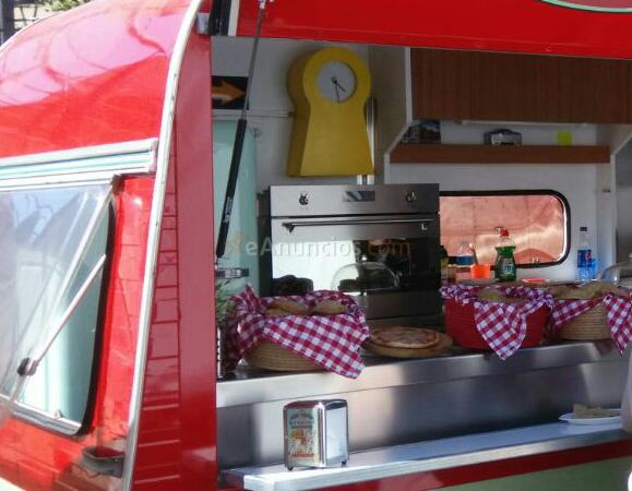 TRASPASO CARAVANA FOOD TRUCK