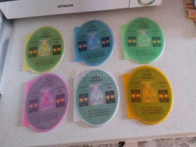 vendo cd de relatos reales de un caballero legionario
