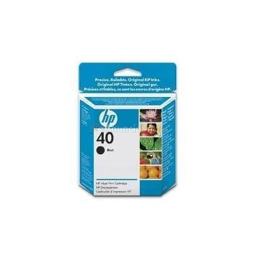 HP  CARTUCHO TINTA HP 40 51640AE 42ML