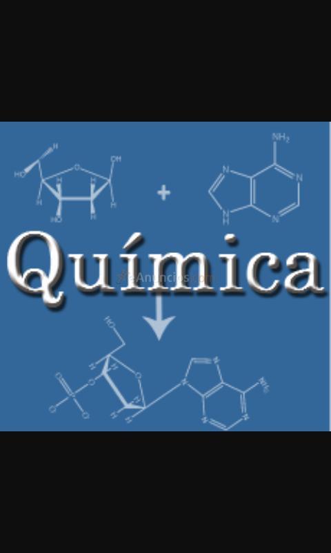Clases particulares de Quimica nivel Eso y Bachillerato