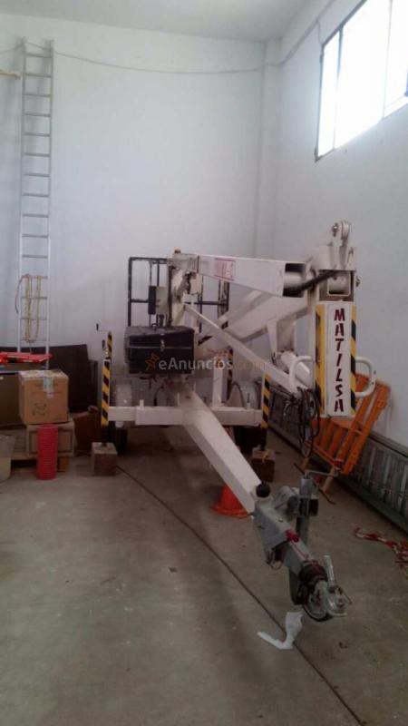 Elevador eléctrico de 12metros marcá Matilsa