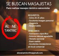 Centro spa de lujo barcelona seleciona masajista