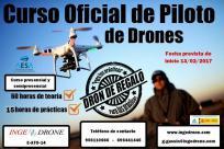 Curso oficial de piloto de drones (carnet)