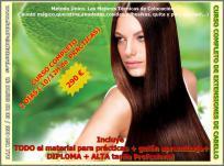 Curso practico de extensiones de cabello