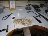 cursos de taller de joyería y esmalte al fuego
