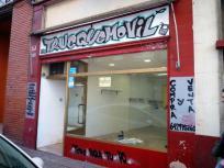 Se alquila local comercial en San José (Camino Puente Virrey esquina con Tenor Fleta)