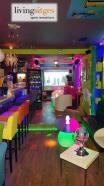 Bar musical en el centro
