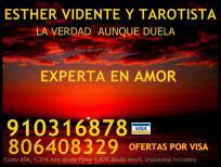 Esther videncia tarot, experta en amor