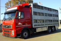 Camión para ganado porcino volvo fh 13.400